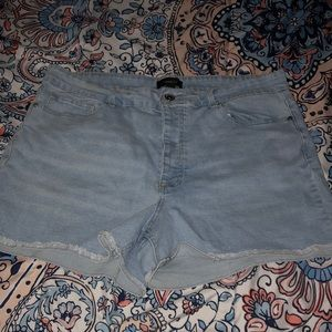 Forever21 Jean shorts Size 18